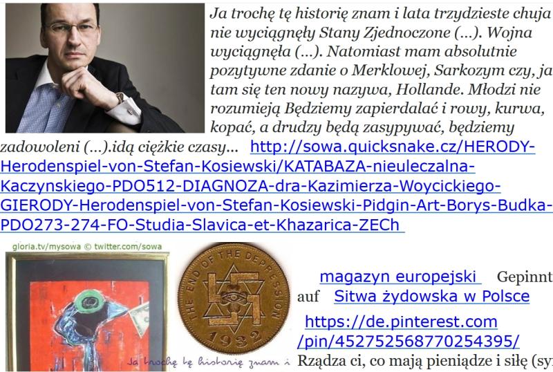 Morawiecki mgr historie zna
