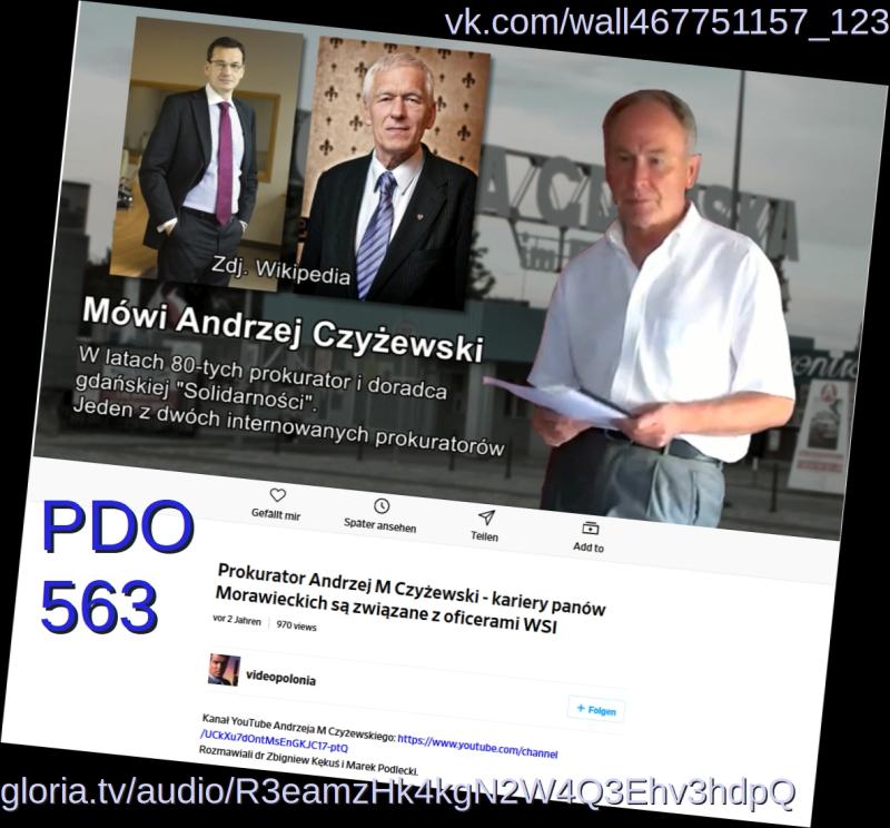 Prokurator Andrzej M Czyzewski kariery panow Morawieckich  sa zwiazane z oficerami WSI