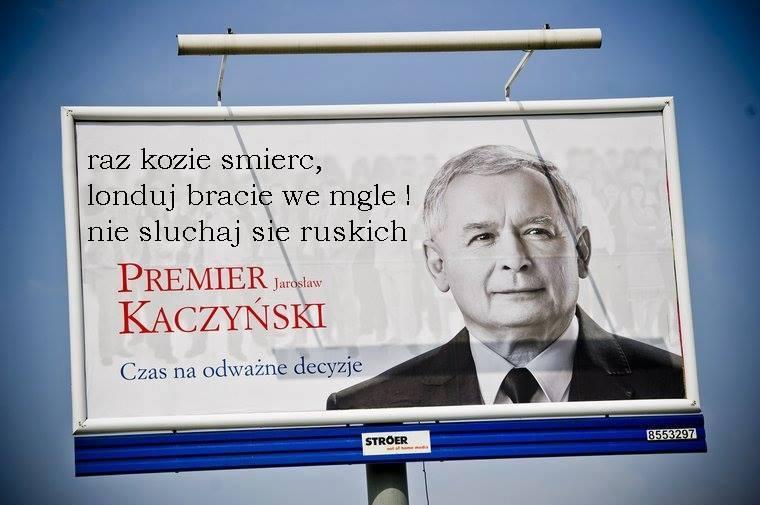 Nie sluchaj sie ruskich