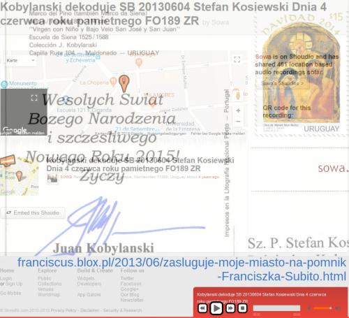 Kobylanski dekoduje SB 20130604 Stefan Kosiewski Dnia 4 czerwca roku pamietnego FO189 ZR