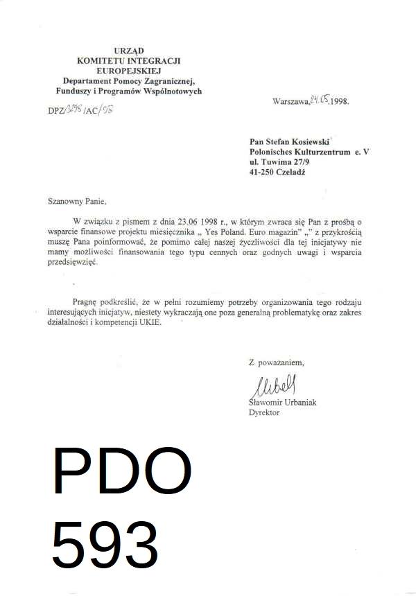 PDO593 urbaniak 24.8.1998