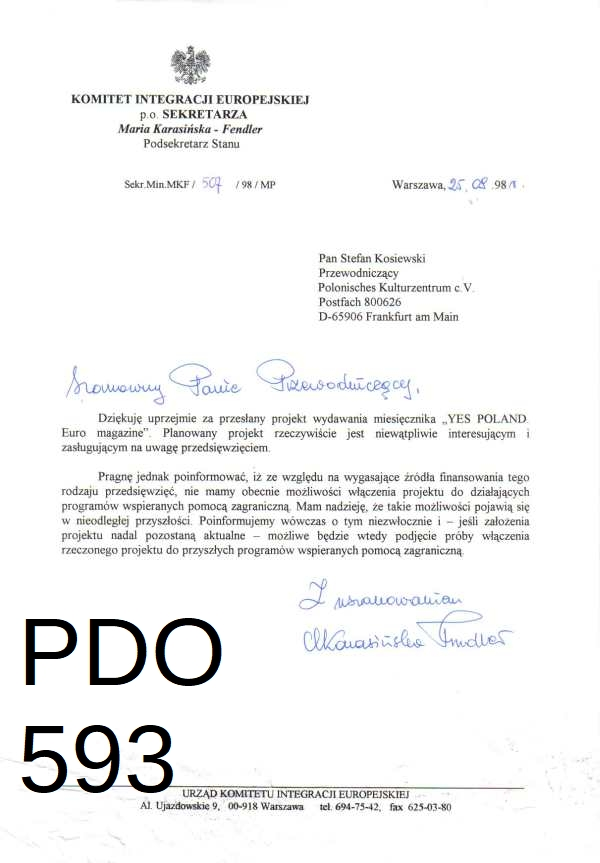 Pdo593 ministry