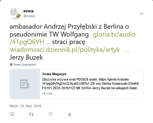 Screenshot_2018-11-23 sowa auf Twitter ambasador Andrzej Przyłębski z Berlina o pseudonimie TW Wolfgang https t co Ax9vVslM[...]