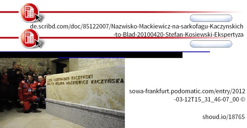 Kaczynska mackiewicz wawl sowa