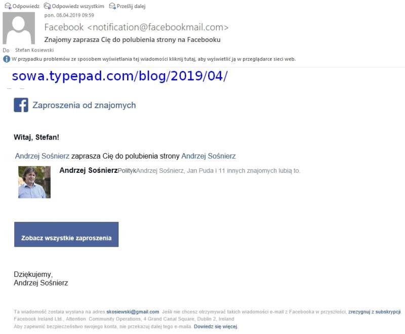 Andrzej Sosnierz polubic Zrzut ekranu 2019-04-08 10.45.43