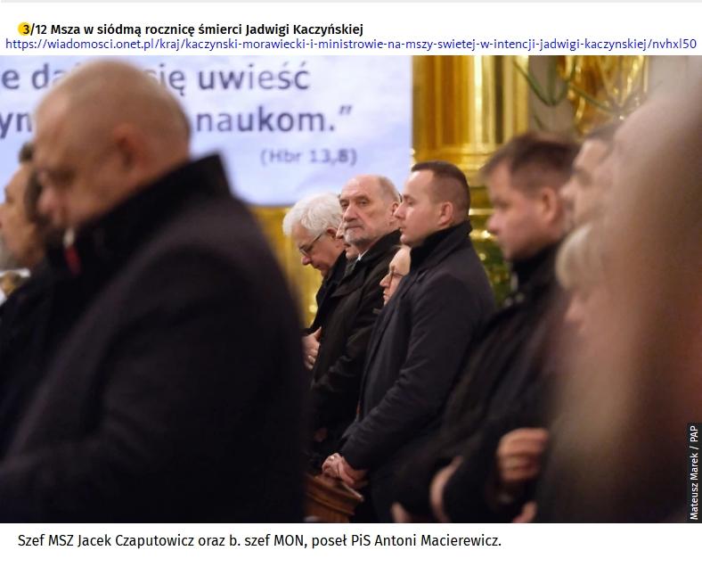 Screenshot_2020-01-19 Kaczyński  Morawiecki i ministrowie na mszy świętej w intencji Jadwigi Kaczyńskiej(9)