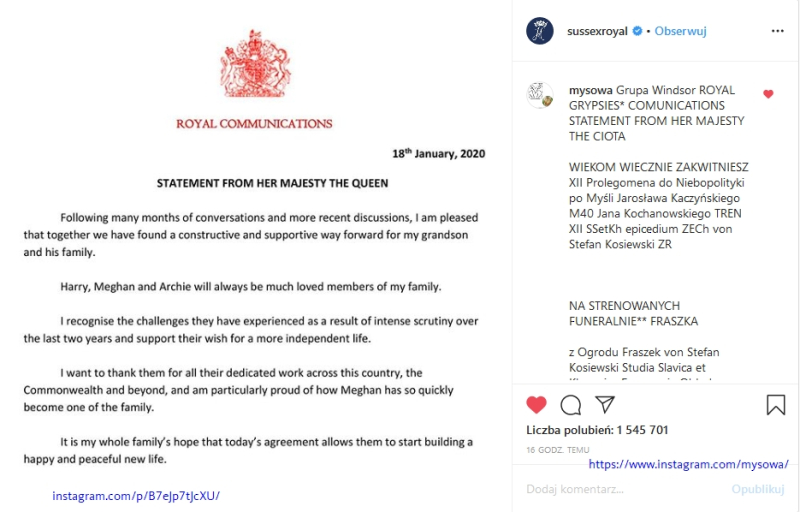 Screenshot_2020-01-19 Zdjęcie na Instagramie użytkownika The Duke and Duchess of Sussex • 18 stycznia 2020 o 19 30(1)
