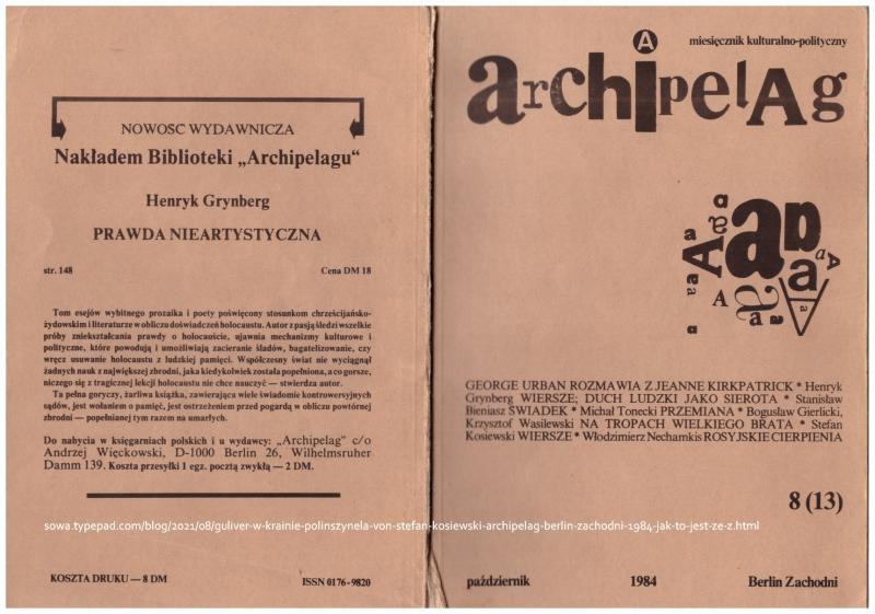 Archipelag Berlin Zachodni 1984 10